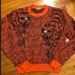 Kenzo tiger beaded sweater